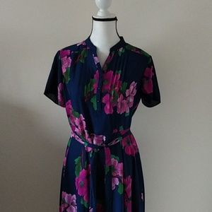 Nanette Lepore floral midi dress